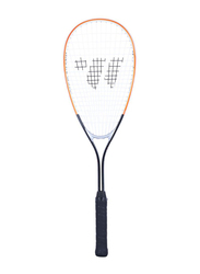 "Wish Squash Tennis Racket, 44010023, 3/4"", Black/Orange/White"