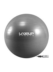 LiveUp Anti Burst Gym Ball, 55cm, Grey