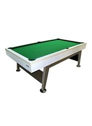 TA Sports Non KD Billiard Table, Green/White