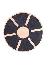 LiveUp LS3150 Wooden Balance Boar, 39 x 7.5cm, Wood/Black