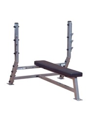 Body Solid Flat Olympic Bench, SFB349G, Silver