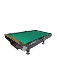 Beverly 9-Feet Billiard Table, LJ01, Green/Black