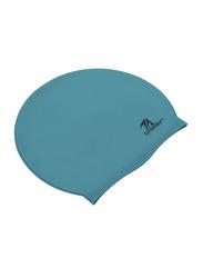 TA Sport Silicone Swimming Cap, Blue