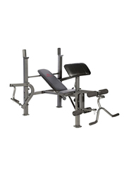 Marcy Diamond Elite Standard Bench Home Gym, Black