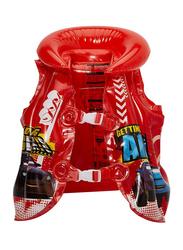 Joerex Inflatable Swimming Vest, 50x45cm, Red/Blue