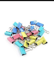 Yizhiwang Binder Clips, 25mm, 48 Pieces, Multicolor