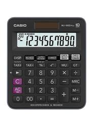 Casio MJ-100D Plus Basic Calculator, Black