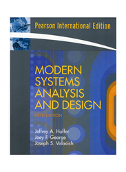 Modern Systems Analysis and Design 5th Edition, Paperback Book, By: Jeffrey Slater, Joey F. George and Joseph S. Valacich