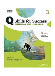 Q Skills for Success: Listening and Speaking Level 3 2nd Edition, Audio Book, By: Miles Craven and Kristin Donnalley Sherman