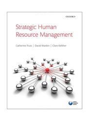 Strategic Human Resource Management, Paperback Book, By: David Mankin, Catherine Truss, Clare Kelliher