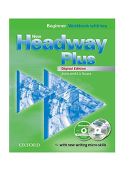 New Headway Plus Beginner Workbook with New Writing Micro-Skills, Paperback Book, By: John Soars