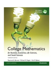 College Mathematics 13th Edition, Paperback Book, By: Michael R. Ziegler, Raymond A. Barnett and Karl E. Byleen