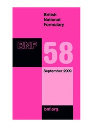 British National Formulary (BNF) 58th Edition, Paperback Book, By: Joint Formulary Committee