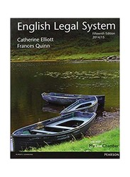 English Legal System, 15 Edition, Paperback Book, By: Catherine Elliott and Frances Quinn