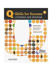 Q Skills For Success: Listening and Speaking Level 1, Audio Book, By: Jaimie Scanlon and Marguerite Ann Snow