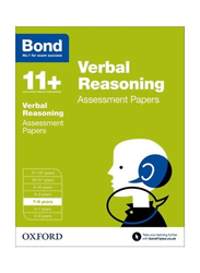 Bond 11+ Verbal Reasoning Assessment Papers, Paperback Book, By: JM Bond, Bond 11+