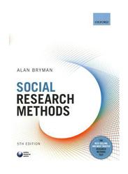 Social Research Methods, Paperback Book, By: Alan Bryman
