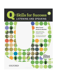 Q Skills for Success: Listening and Speaking - Level 3, Audio Book, By: Miles Craven and Kristin D. Sherman