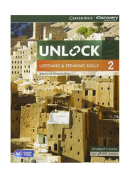 Unlock Level 2 Listening and Speaking Skills Student's Book and Online Workbook, Paperback Book, By: Stephanie Dimond-Bayir