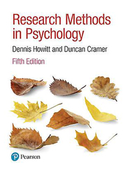 Research Methods In Psychology, Paperback Book, By: Dennis Howitt, Duncan Cramer