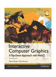 Interactive Computer Graphics: A Top-Down Approach with WebGL 7th Edition, Paperback Book, By: Edward Angel and Dave Shreiner
