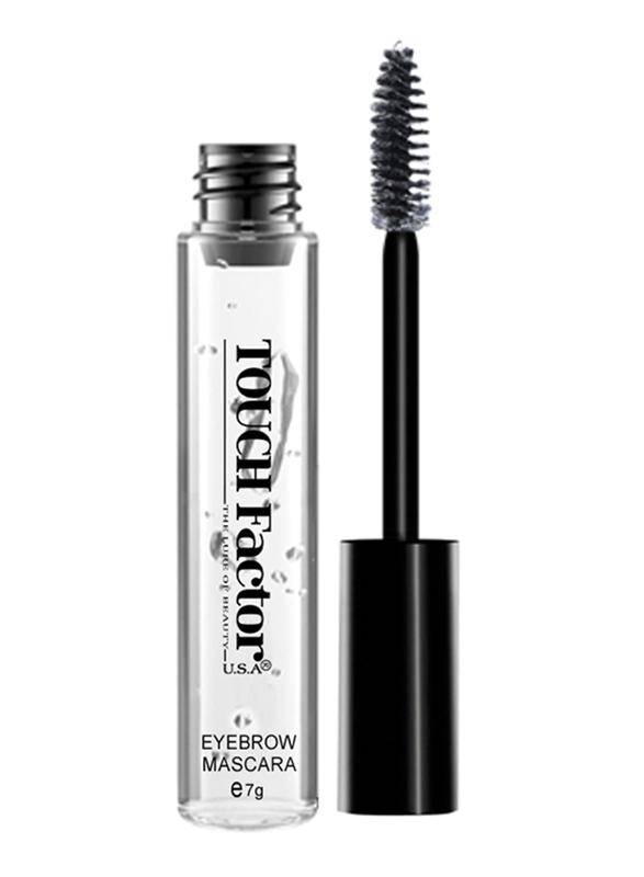 Touch Factor Eyebrow Mascara, CEM08, Clear