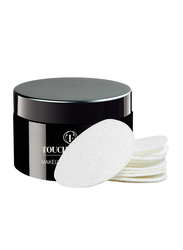 Touch Factor Makeup Remover Wipes, White