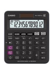 Casio 12-Digit MJ-120D Plus Plus Desktop Calculator, Black