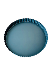 Wisteria 11-inch Non-Stick (50c) Quiche Pan with Loose Base, Blue