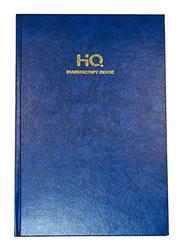 Navneet HQ Manuscript Book, 4Q, 192 Sheets, A4 Size, Blue