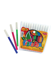 Colo Kit Fibre Pen, 12 Piece, FP-01, Multicolour