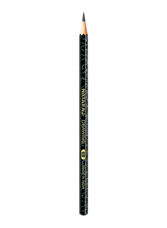 Nataraj 6B Drawing Pencil, Black