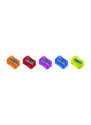 Nataraj 20-Piece Neon Sharpener in Jar, Multicolour
