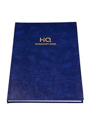 Navneet HQ Manuscript Book, 2Q, 96 Sheets, FS Size, Blue