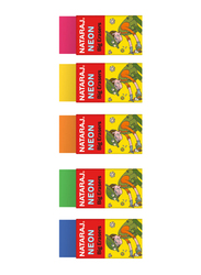 Nataraj 18-Piece Neon Big Eraser, Multicolour