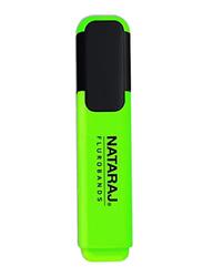 Nataraj Chisel Tip Highlighter, 2.5mm, Green