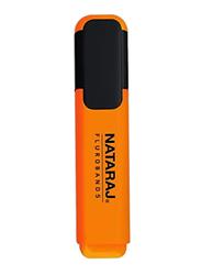 Nataraj Chisel Tip Highlighter, 2.5mm, Orange