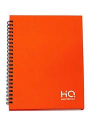 Navneet HQ Hard Case Wiro Book, 80 Sheets, A5 Size, Orange