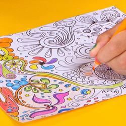 Kores Kolores Hobby Triangular Colour Pencils, 50 Piece, Multicolour