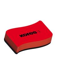 Kores Magnetic Whiteboard Eraser, Red