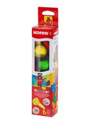 Kores Krayonitos Way Crayons, 6 Piece, Multicolour