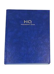 Navneet HQ Manuscript Book, 3Q, 144 Sheets, A4 Size, Blue