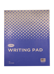 Navneet Flapover Writing Pad, 70 Sheets, A4 Size, White/Blue