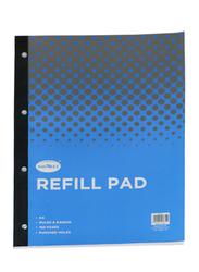 Navneet Refill Pad, 80 Sheets, A4 Size, Black/Blue