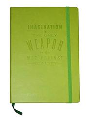 Navneet HQ Journal Casebound PU Notebook, 96 Sheets, A5 Size, Green