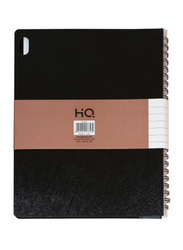 Navneet HQ Executive Notebook, 80 Sheets, A5 Size, Black