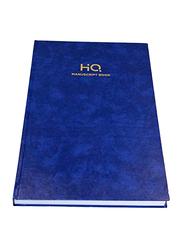 Navneet HQ Manuscript Book, 3Q, 144 Sheets, FS Size, Blue