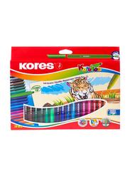 Kores Korellos Pen with Fibre Felt/Conic Tip, 20 Piece, Multicolour
