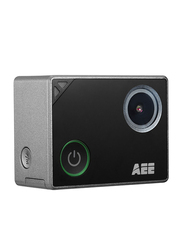AEE S90A Lyfe Titan WiFi Action Camera, 8MP, 4K, 4x Digital Zoom, Grey/Black
