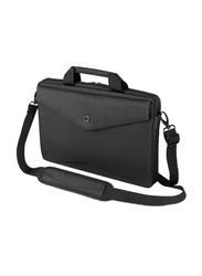 Dicota Slim Case Code 11-inch Messenger Laptop Bag, Black